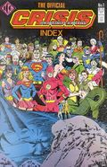 Official Crisis on Infinite Earths Index (1986) 1