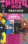Marvel Age Preview (1990) 1