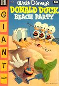 Dell Giant Donald Duck Beach Party (1954-1959 Dell) 2