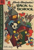 Dell Giant Woody Woodpecker Back to School (1952) 6