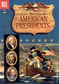 Dell Giant Life Stories of American Presidents (1957) 1