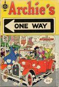 Archie's One Way (1972-1973) 1B
