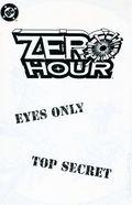 Zero Hour Ashcan (1994) 1A