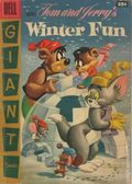 Dell Giant Tom and Jerry's Winter Fun (1954) 5-25C