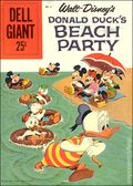 Dell Giant Donald Duck Beach Party (1954-1959 Dell) 6