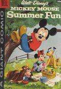 Dell Giant Mickey Mouse Summer Fun (1958) 1