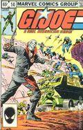 GI Joe (1982 Marvel) 14REP.2ND