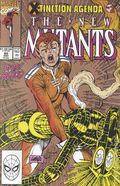 New Mutants (1983 1st Series) 95GOLD