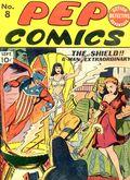 Pep Comics (1940) 8
