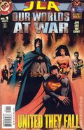 JLA Our Worlds at War (2001) 1