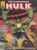 Rampaging Hulk (1977 Magazine) 1