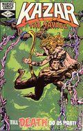 Ka-Zar the Savage (1981) 13