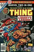 Marvel Two-in-One (1974 1st Series) Annual 1