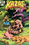 Ka-Zar the Savage (1981 Marvel) 16