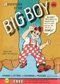 Adventures of the Big Boy (1957-1996 Webs Adv. Corp.) Restaurant Promo 382