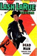Lash Larue Western (1949 Fawcett/Charlton) 45
