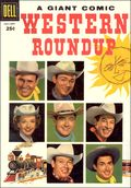 Dell Giant Western Roundup (1952-1959 Dell) 15
