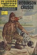 Classics Illustrated 010 Robinson Crusoe 20TWIN