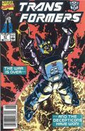 Transformers (1984 Marvel) 1st Printing 67
