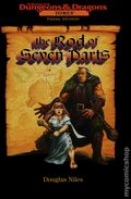 Dungeons and Dragons Tomes The Rod of Seven Parts HC (1996 Novel) 1-1ST