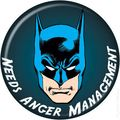 DC Comics Personality Button (2010 Ata-Boy) BATMAN-1