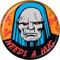 DC Comics Personality Button (2010 Ata-Boy) DARKSEID