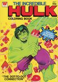 Incredible Hulk Coloring Book SC (1970-1980 Whitman ) WH-REP