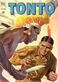 Lone Ranger's Companion Tonto (1951-1959 Dell) 2