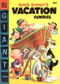 Dell Giant Bugs Bunny's Vacation Funnies (1951-1959 Dell) 7