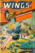 Wings Comics (1940) 92