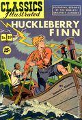 Classics Illustrated 019 Huckleberry Finn (1944) 8