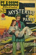 Classics Illustrated 044 Mysteries of Paris (1947) 1B