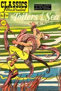 Classics Illustrated 056 The Toilers of the Sea (1949) 1
