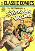 Classics Illustrated 033 Adventures of Sherlock Holmes (1947) 1