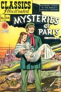 Classics Illustrated 044 Mysteries of Paris (1947) 1A