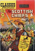 Classics Illustrated 067 The Scottish Chiefs (1950) 1