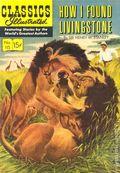 Classics Illustrated 115 How I Found Livingstone (1954) 1