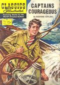 Classics Illustrated 117 Captains Courageous (1954) 1