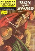 Classics Illustrated 151 Won by the Sword (1959) 1