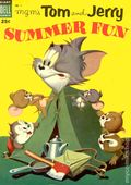 Dell Giant Tom and Jerry Summer Fun (1954) 1