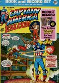 Captain America and the Falcon Book and Record Set (1974 Power Records) PR12-N