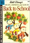 Dell Giant Huey, Dewey, and Louie Back to School (1958 Dell) 1A