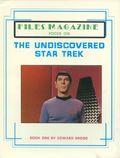 Files Magazine Focus on the Undiscovered Star Trek SC (1987) 1-1ST