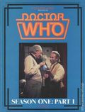 Files Magazine Spotlight on Doctor Who: Season 01 SC (1986 Psi Fi Press) 1-1ST