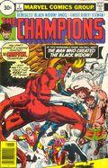 Champions (1975 Marvel) 30 Cent Variant 7
