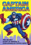 Captain America The Secret Story of Marvel's Star-Spangled Super Hero TPB (1981 Ideals) 1-1ST