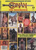 Conan The Destoyer Official Poster Magazine (1984) 1