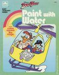 DuckTales Paint With Water Book SC (1986 Golden Press) #1796-1