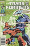 Transformers (1984 Marvel) 1st Printing 18