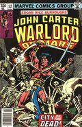 John Carter Warlord of Mars (1977 Marvel) 12